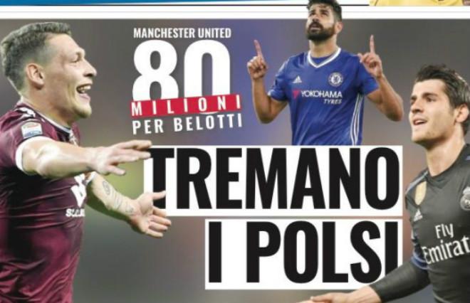 """Chuyển nhượng MU: """"Chi bạo"""" chiêu mộ Belotti 70 triệu bảng - 1"""