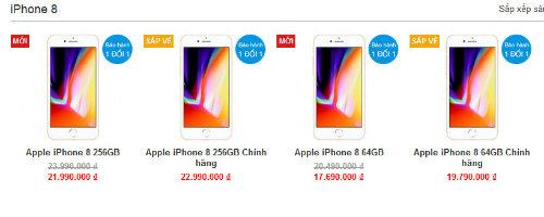 iPhone 7, iPhone 8 tiếp tục giảm cả triệu đồng - 4