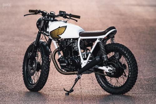 """""""Mê mệt"""" với bản độ Honda CB360T 1976 tặng bạn gái - 2"""