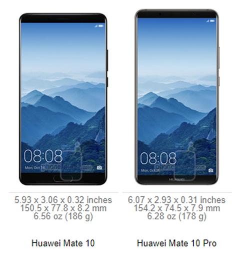 Huawei Mate 10 với Mate 10 Pro: Đâu là điểm khác biệt? - 1
