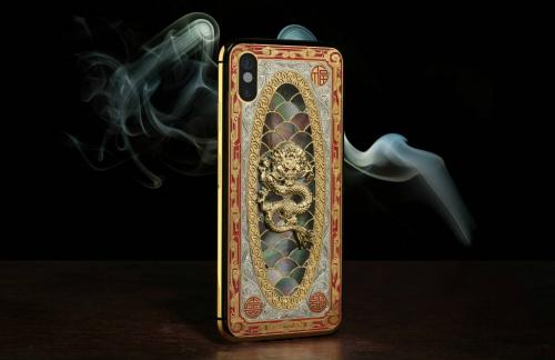 Nếu iPhone X chưa đủ ngầu, mua ngay iPhone X Legend nạm kim cương - 1