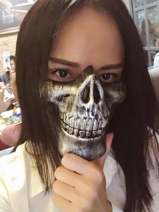 Dàn sao Việt hóa trang ma quái trong đêm Halloween - 3