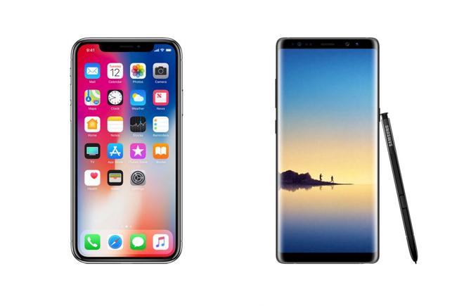 Bảo mật trên Galaxy Note 8 và iPhone X có gì đặc biệt? - 1