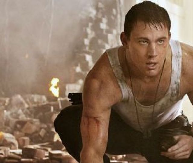Channing Tatum Seen In A Scene From White House Down Ap Photo Sony Columbia Pictures Reiner Bajo