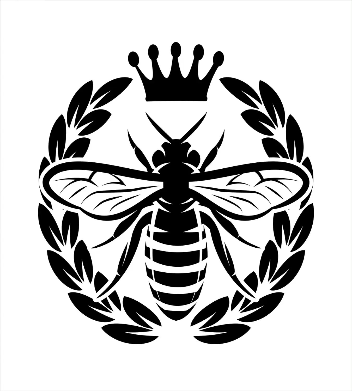 Queen Bee Duvet Cover Set Twin Queen King Sizes With