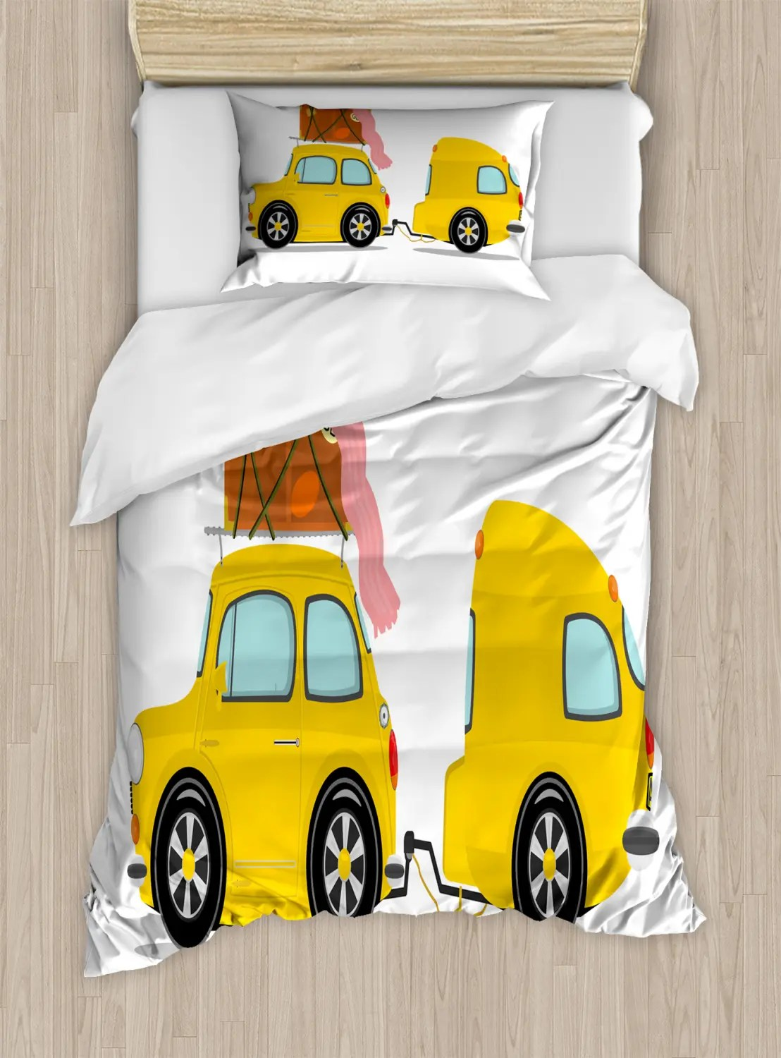 Camper Duvet Cover Set Twin Queen King Sizes With Pillow