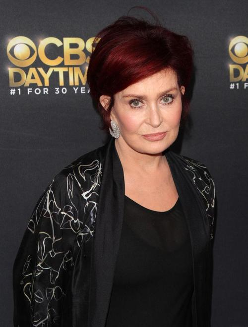 Sharon Osbourne Lambasted After Changing Hair Color From Crimson To Platinum It Makes You Look Older