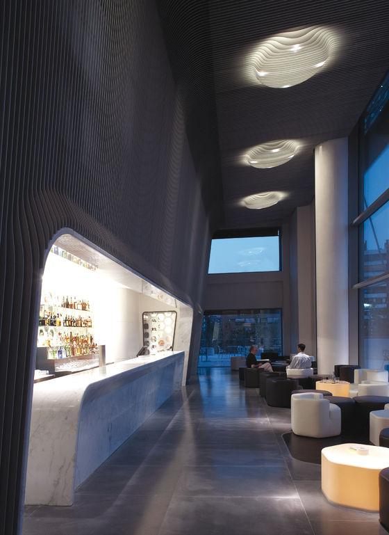 Hotel Puerta America Marmo Bar 6th Floor By Marc Newson