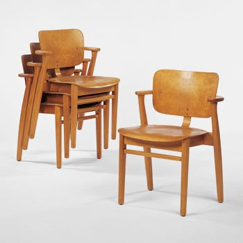 Wright stacking chairs