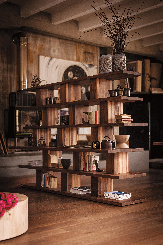 Bookshelf Shelving From Riva 1920 Architonic