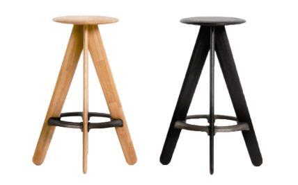 Surprising Wood Slab Bar Stools Hot Trending Now Short Links Chair Design For Home Short Linksinfo