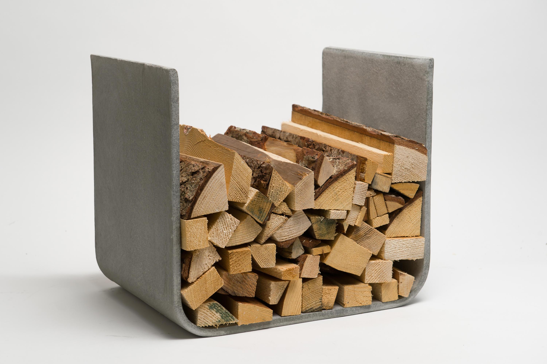 U Board Wood Log Holder