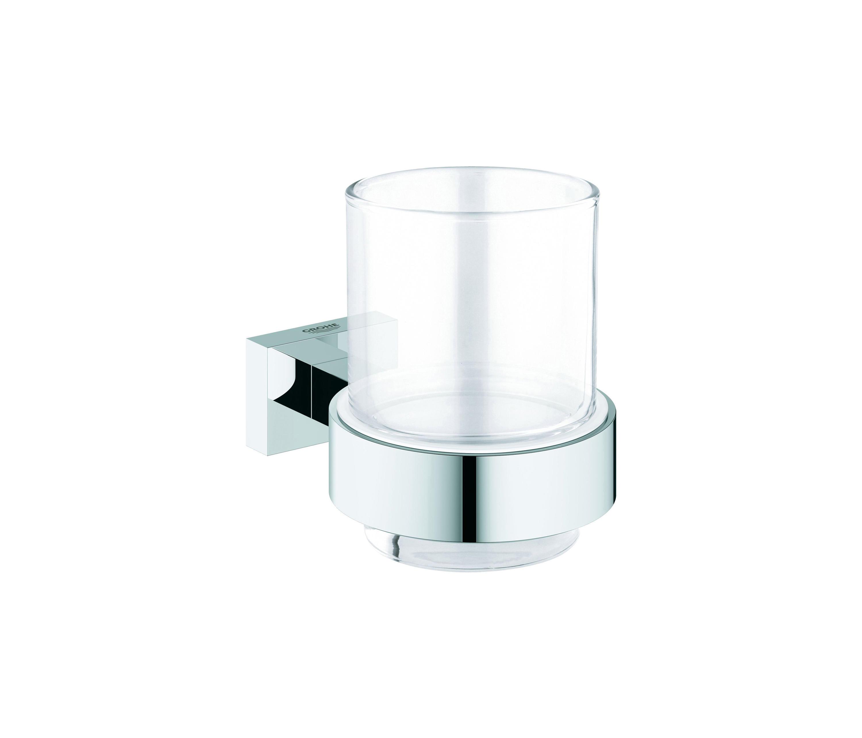 Essentials Cube Verre En Cristal Avec Support Architonic