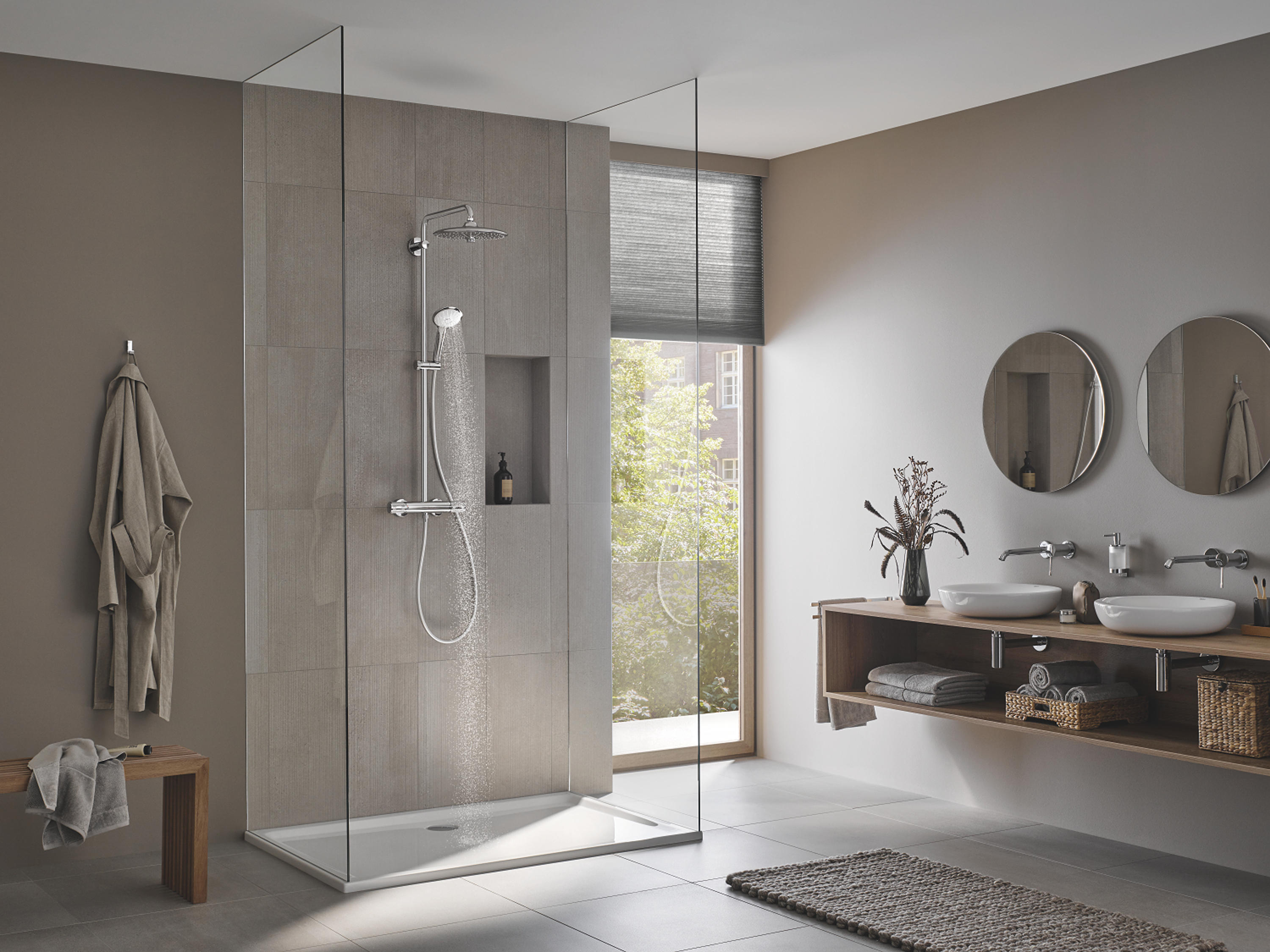 https www architonic com de product grohe euphoria smartcontrol system 310 duo duschsystem mit thermostatbatterie fuer die wandmontage 1571263
