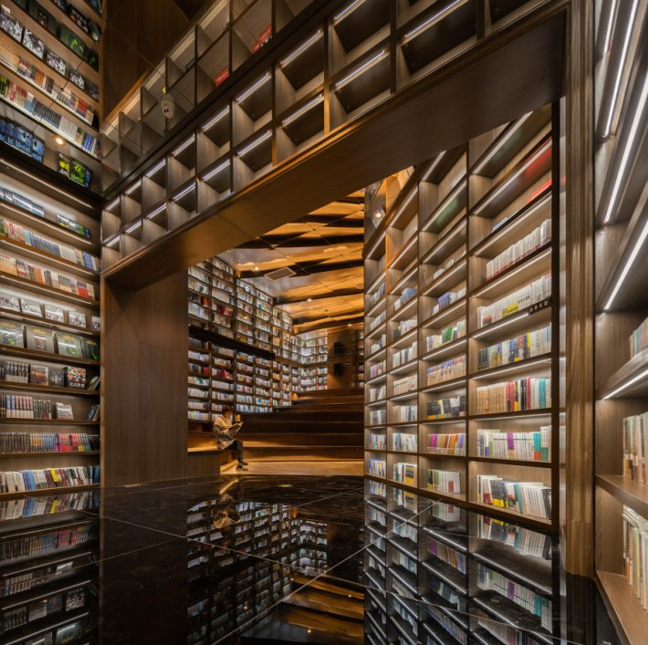 Guiyang Zhongshuge  Bookstore von X+Living | Shop-Interieurs