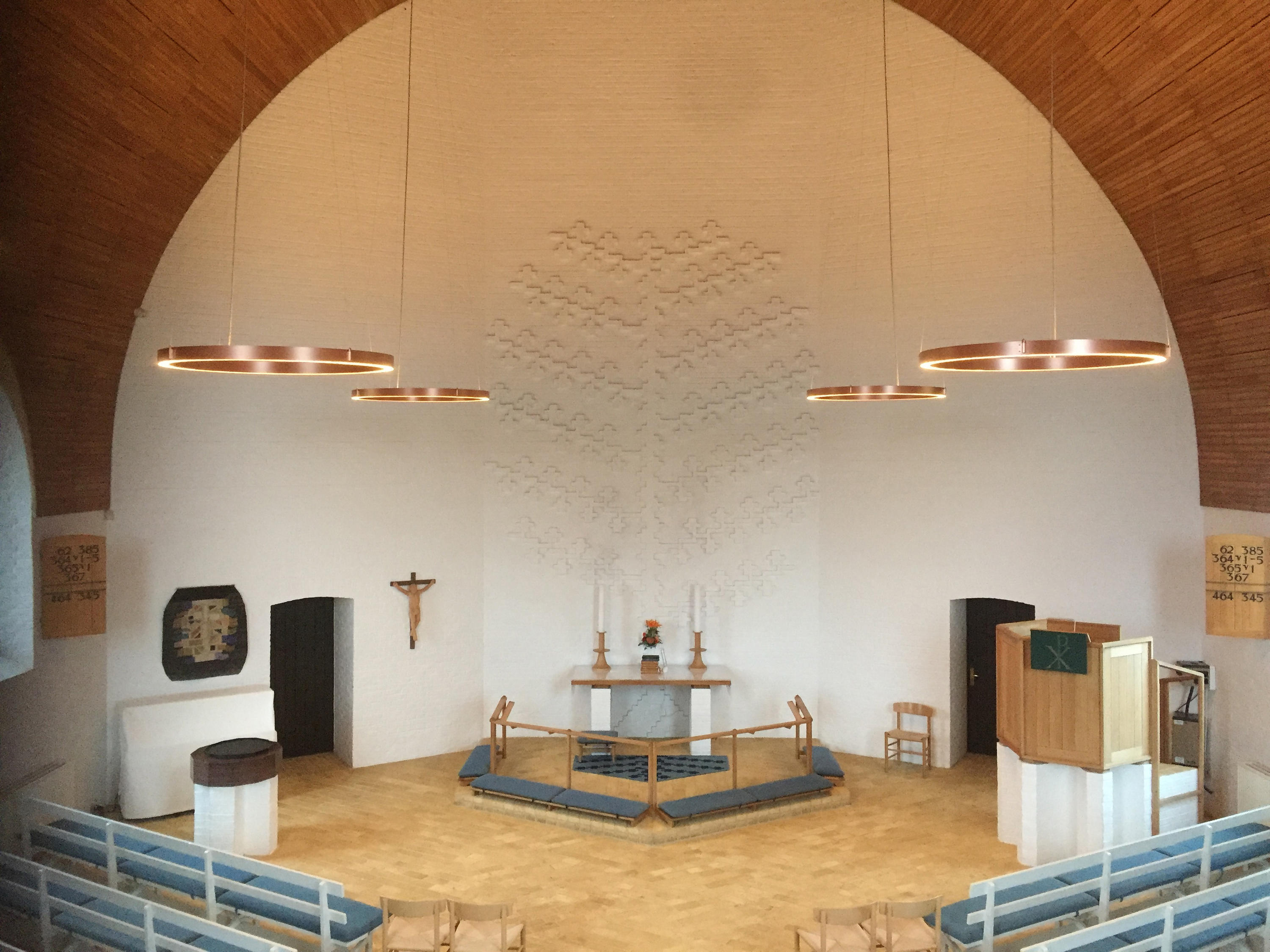 brejning church led chandelier architonic