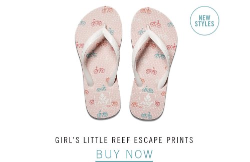 GIRL'S LITTLE REEF ESCAPE PRINTS