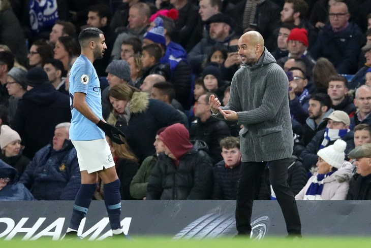 Pep Guardiola could not inspire his side to a victory at Stamford Bridge