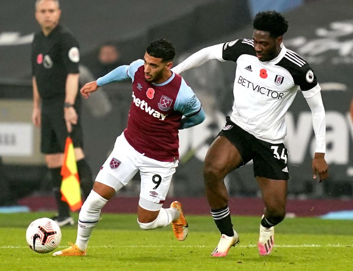 West Ham United v Fulham – Premier League – London Stadium