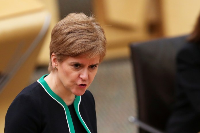 Leaders of the devolved administrations, including Scotland's First Minister Nicola Sturgeon, will make their own decisions on how to support the sports sectors in those countries