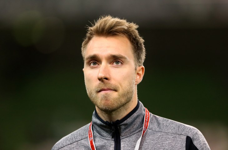 Christian Eriksen file photo