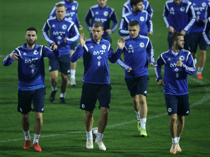 Bosnia and Herzegovina in training
