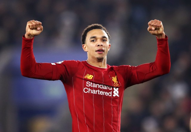 Only Manchester City midfielder Kevin De Bruyne (16) has contributed more Premier League assists than Trent Alexander-Arnold (12)