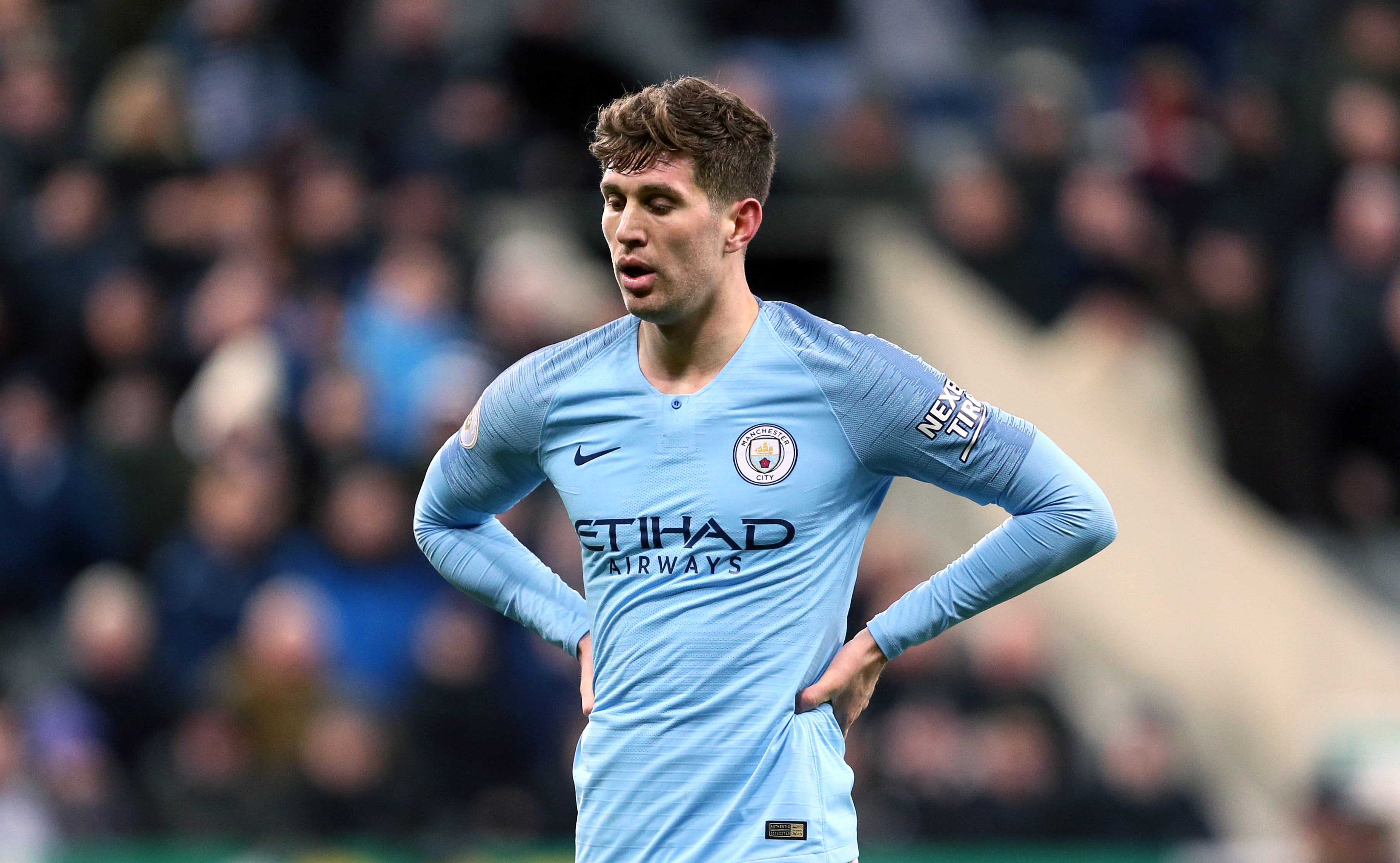 John Stones should be back after the international break