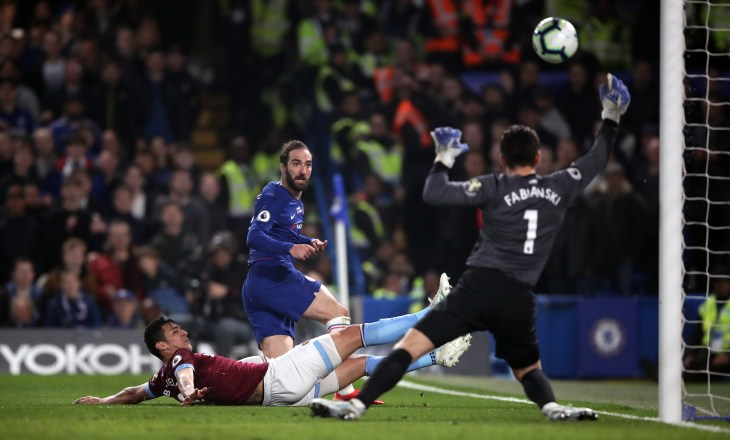 Hazard believes his partnership with Gonzalo Higuain is starting to click