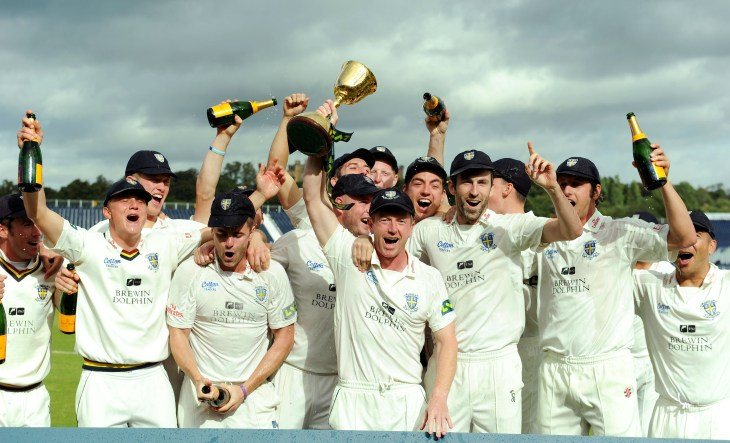 Collingwood was also at the helm for Durham in their County Championship title win in 2013 (Owen Humphreys/PA)