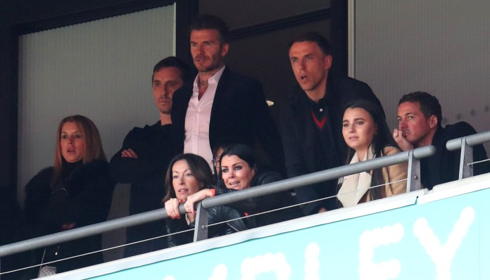 Gary Neville, David Beckham and Phil Neville are among the co-owners of Salford