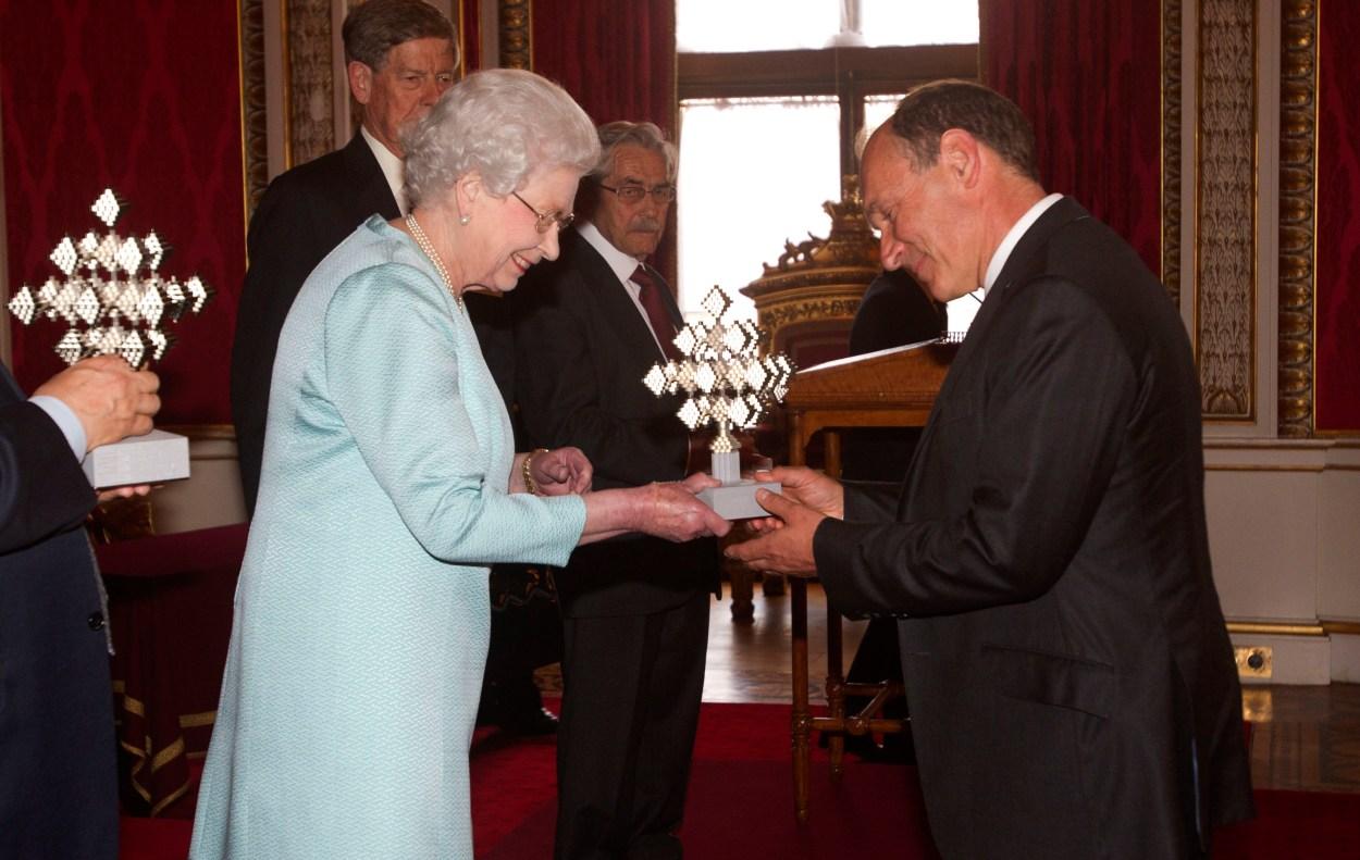 Queen Elizabeth Prize for Engineering reception
