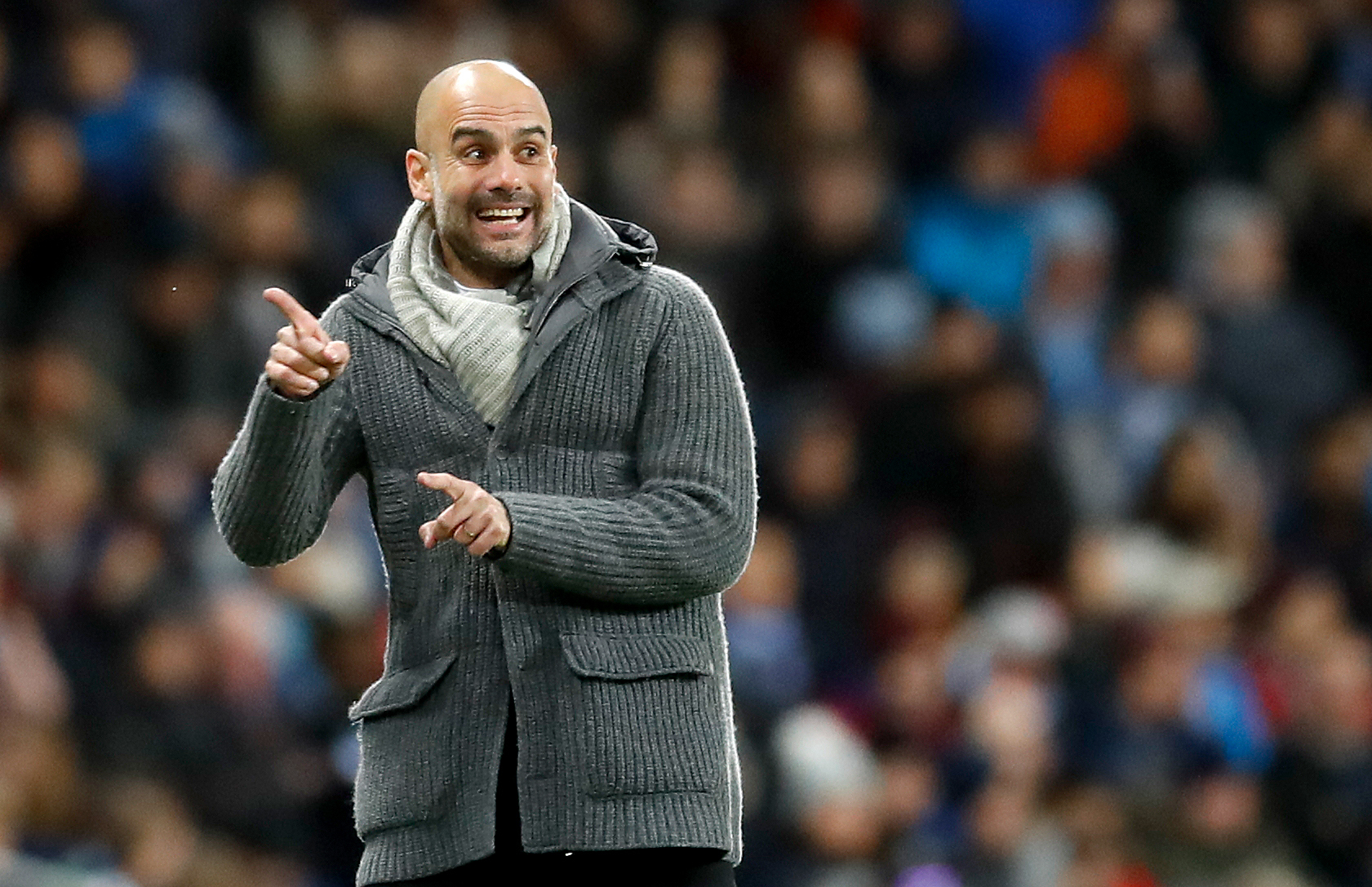 Pep Guardiola's Manchester City could win four trophies this season