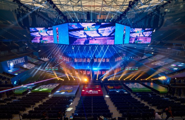 The Fortnite World Cup being held in New York