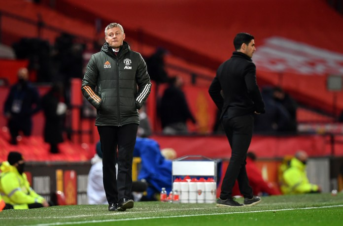 Ole Gunnar Solskjaer was again left facing questions over the direction of his team