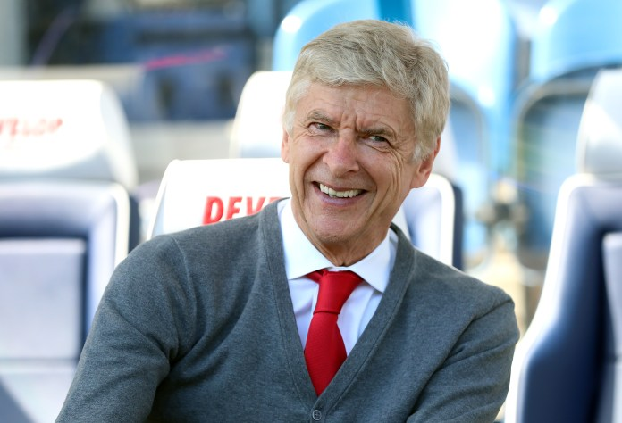Arsene Wenger made a presentation proposing a change to the offside law
