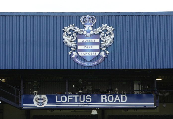 A view of the TV stand at Loftus Road