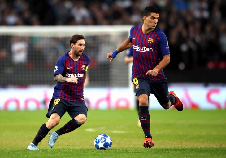 Tottenham Hotspur v Barcelona – UEFA Champions League – Group B – Wembley Stadium