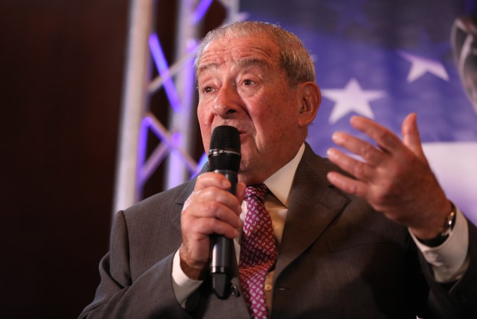 Bob Arum, Chairman of Top of the Step, said Fury will be fighting with Tom Schwarz