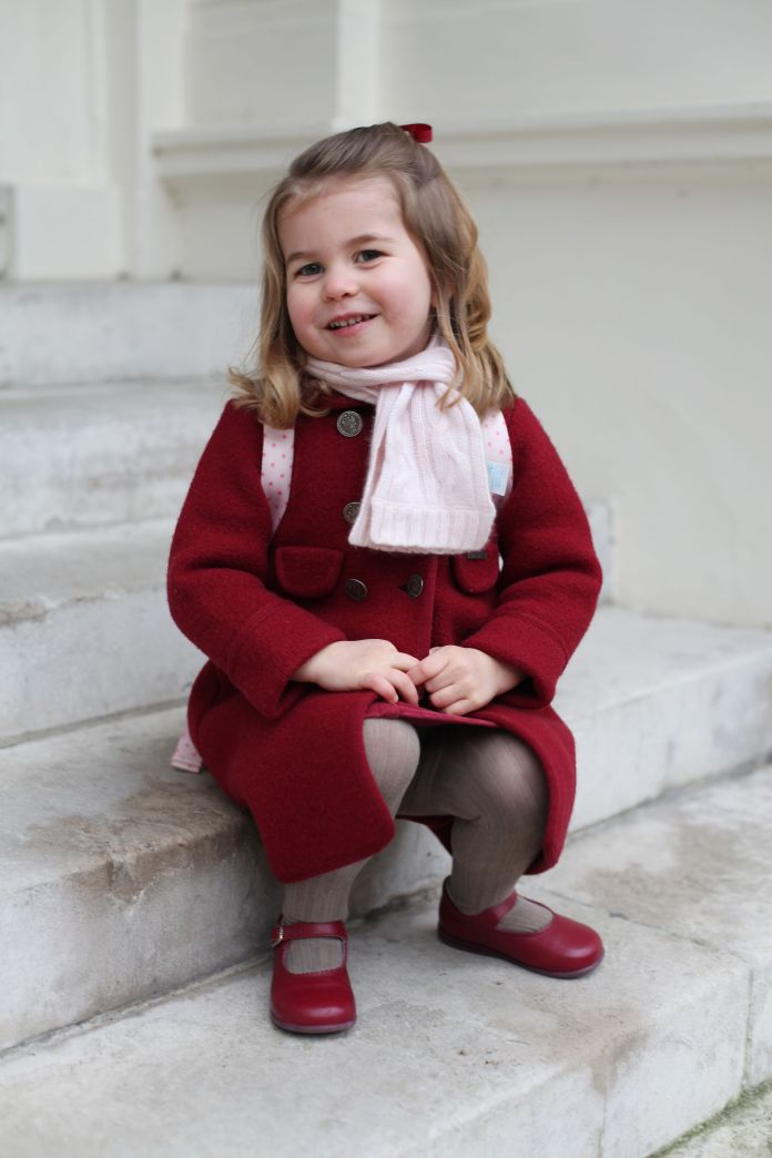 Princess Charlotte attends nursey