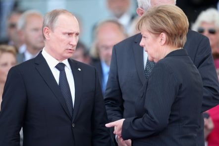 Picture result for Merkel and Putin to Hold Talks on New Baltic Pipeline