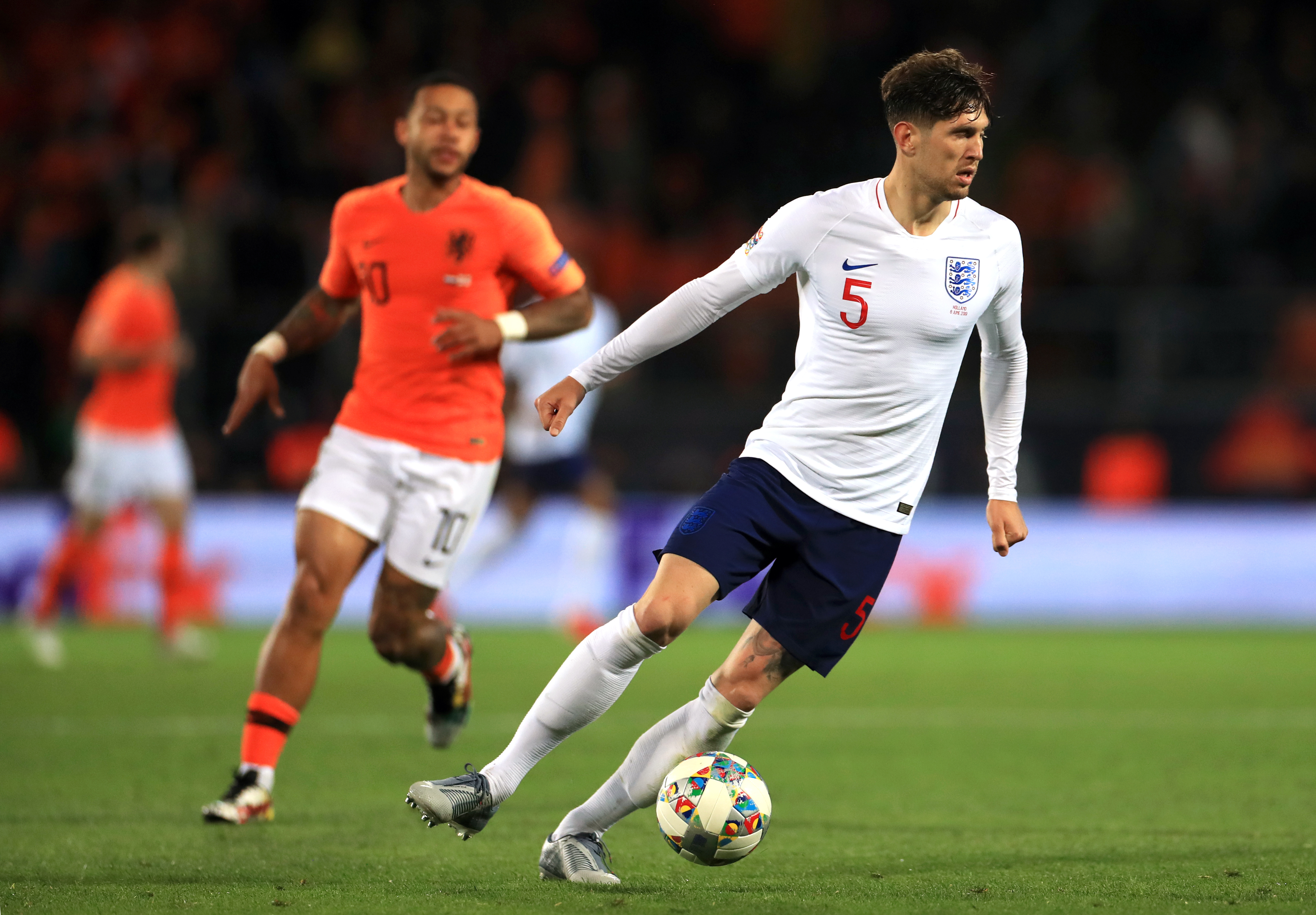 John Stones had an evening to forget against Holland