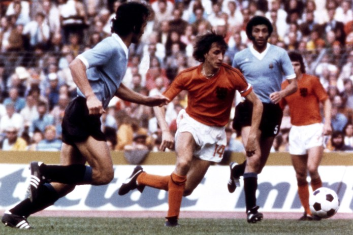 Johan Cruyff was the orchestrator of Total Football