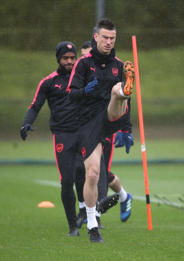 Laurent Koscielny is back in training and nearing a return for Arsenal