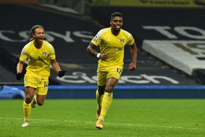 Ivan Cavaleiro celebrates a goal