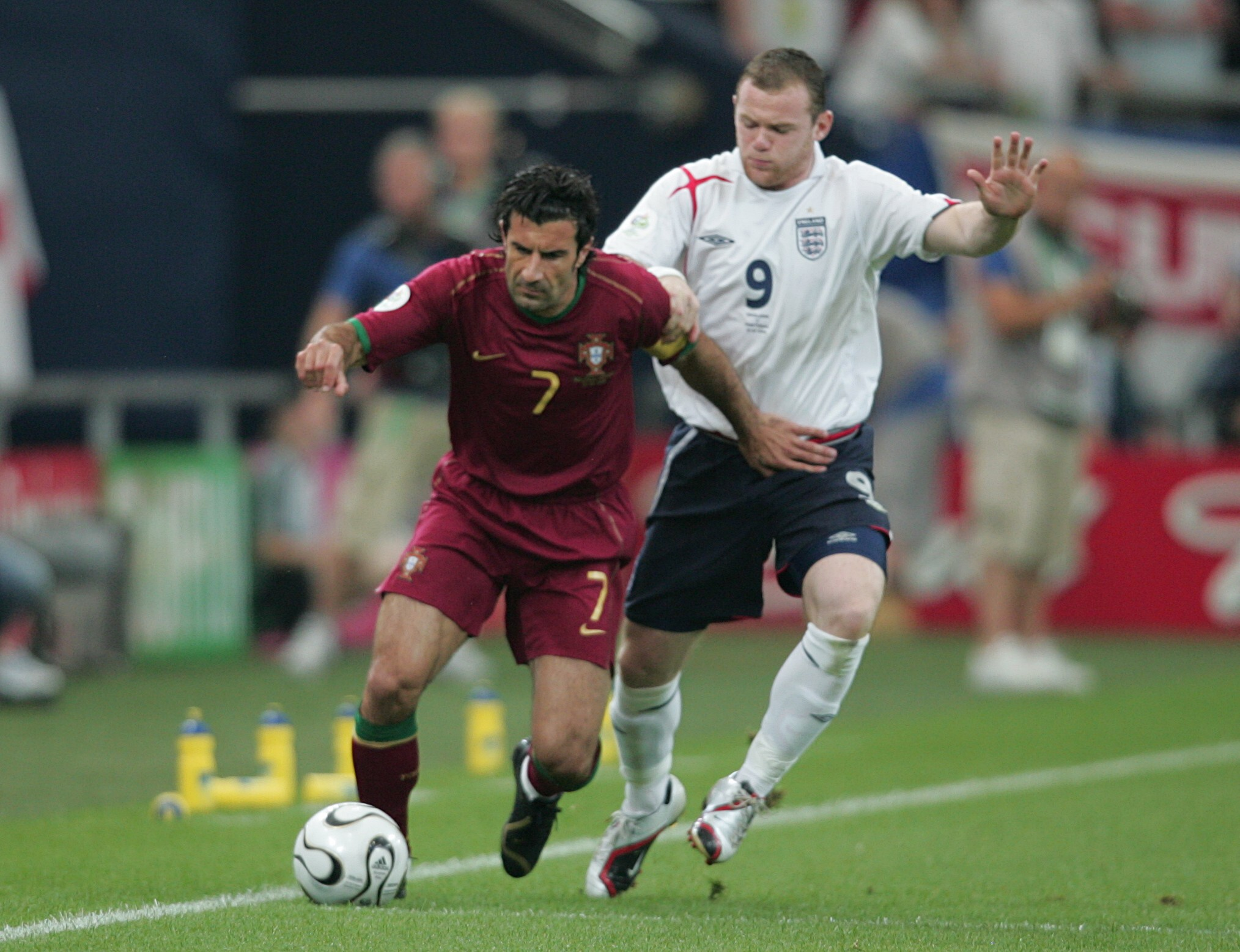 Real Madrid paid a world record transfer fee for Luis Figo in 2000