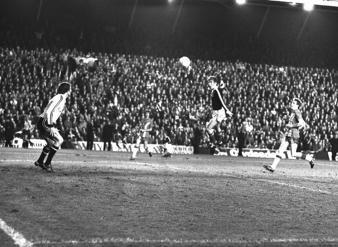 Kenny Dalglish scored at Anfield