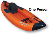 Kwik Tek Airhead Performance Travel Inflatable Kayaks