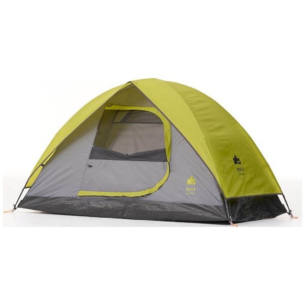 зелёно серая палатка