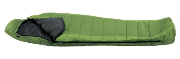спальный мешок зелёный